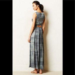 Anthropologie Tye Dye Maxi Dress